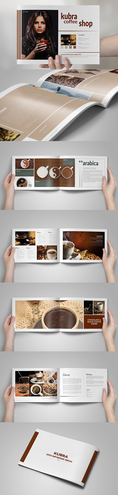Creative Brand Brochure Template