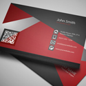 Post Thumbnail of Free Creative Red Business Card PSD Template