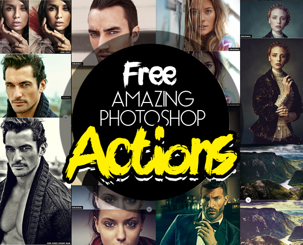 25 Amazing Free Photoshop Actions for Photographers