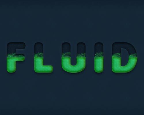 Create a Dynamic Liquid Text Effect in Adobe Photoshop