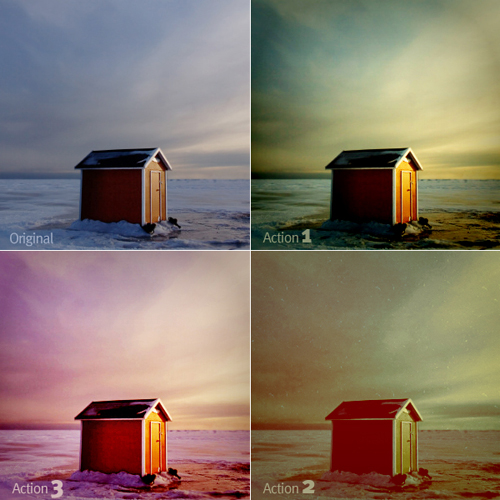 Free Photoshop Sky Actions