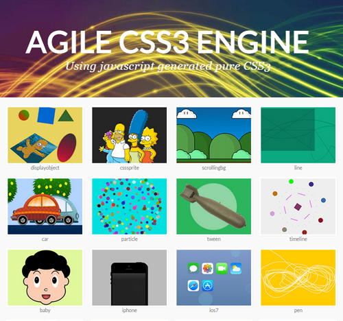 Agile CSS3 Engine - UI Design Tool