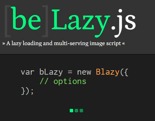 bLazy: Lightweight Lazy Loading Plugin