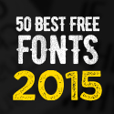 Post Thumbnail of 50 Best Free Fonts Of 2015