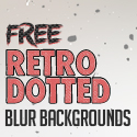 Post thumbnail of Free 50 Retro Dotted Blurred Backgrounds