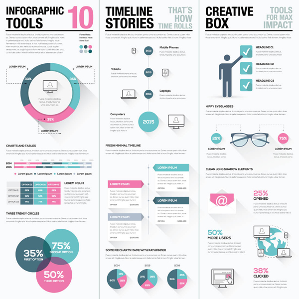1000+ vector graphics and infographics vector elements