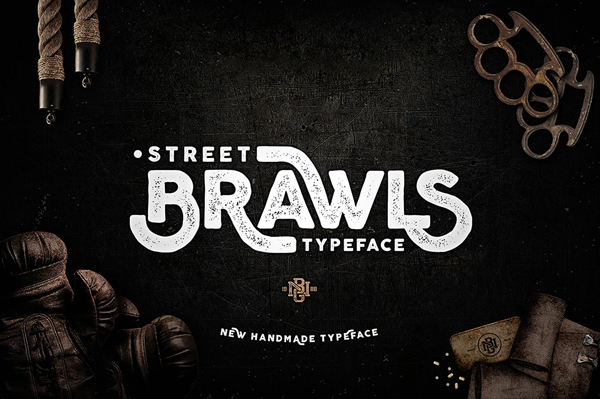 Brawls Typeface is new font from Heybing Supply Co