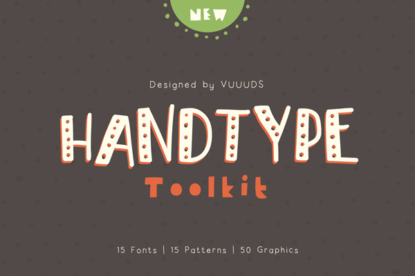 Handtype Toolkit (15 Fonts)