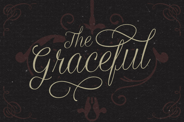 The Graceful font by Artimasa