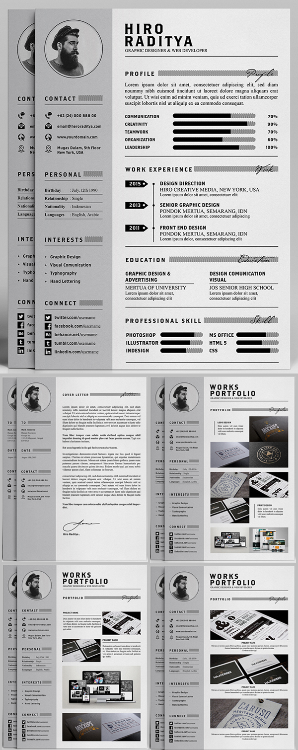 Free Resume Templates Creative Creative Resume Samples Examples
