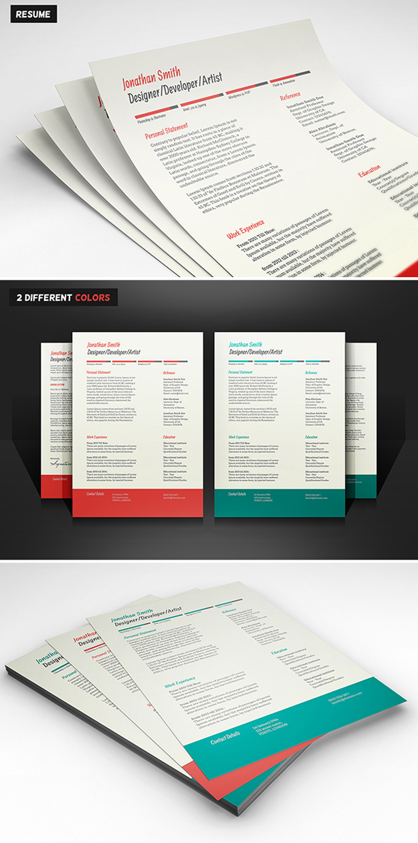 Ikebukuro Free Elegant Resume Template Green For Ms Word. The 25