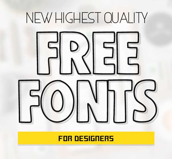 16 New Futuristic Free Fonts for Designers