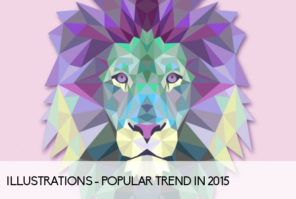 Illustrations - Popular trend in 2015