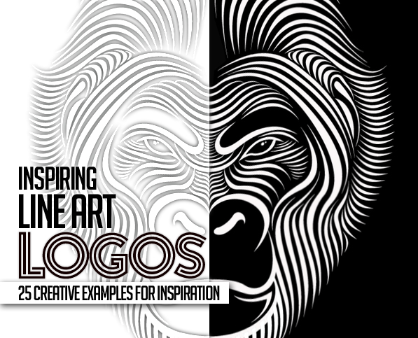 Line Design Ideas : Line art used in logo design great concepts and ideas
