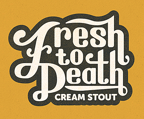 Fresh to Death Cream Stout by Tommy Creenan