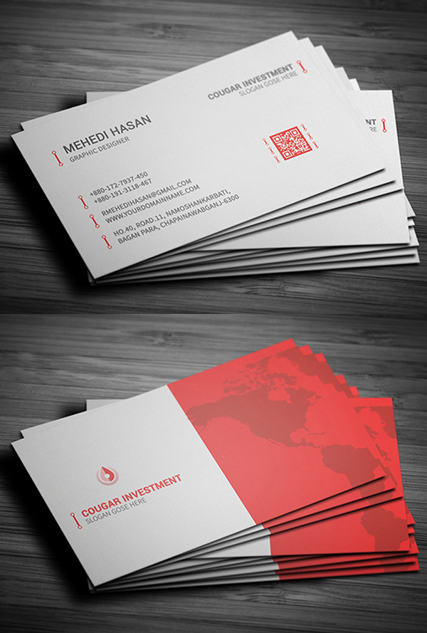 Print Ready Business Card Design