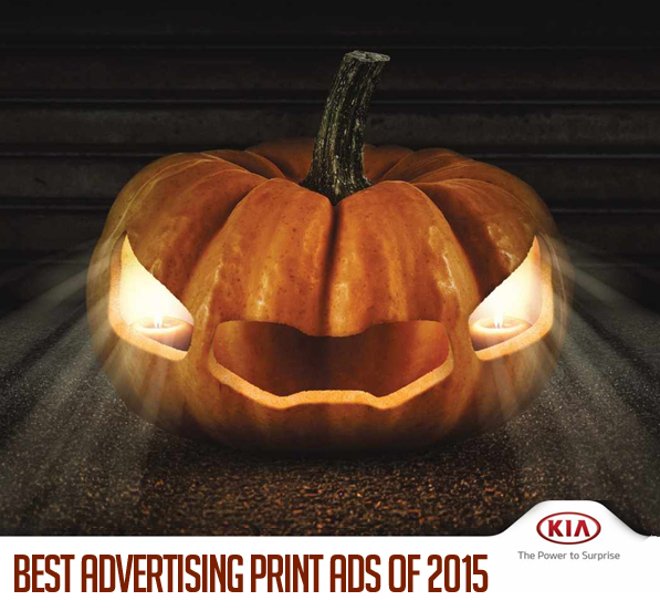 Advertising Print Ads  – Best of 2015