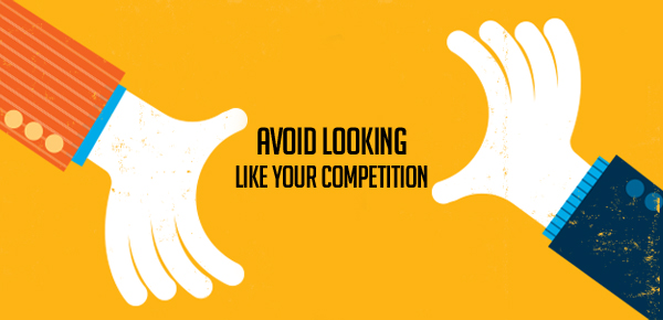 Avoid looking like your competition