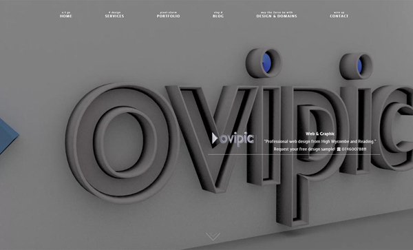 32 HTML5 Websites Examples Of Design with HTML5 - 28