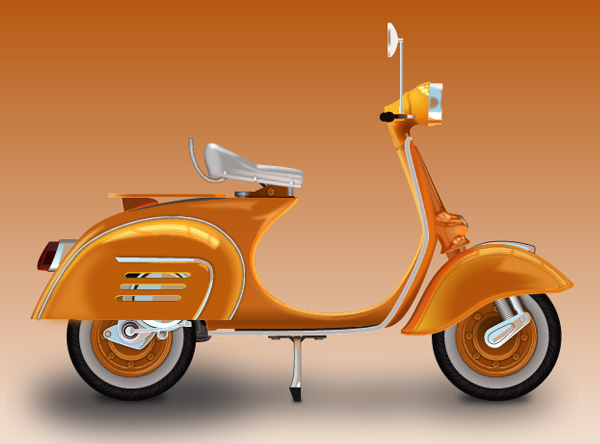 How to Create a Vespa in Adobe Illustrator