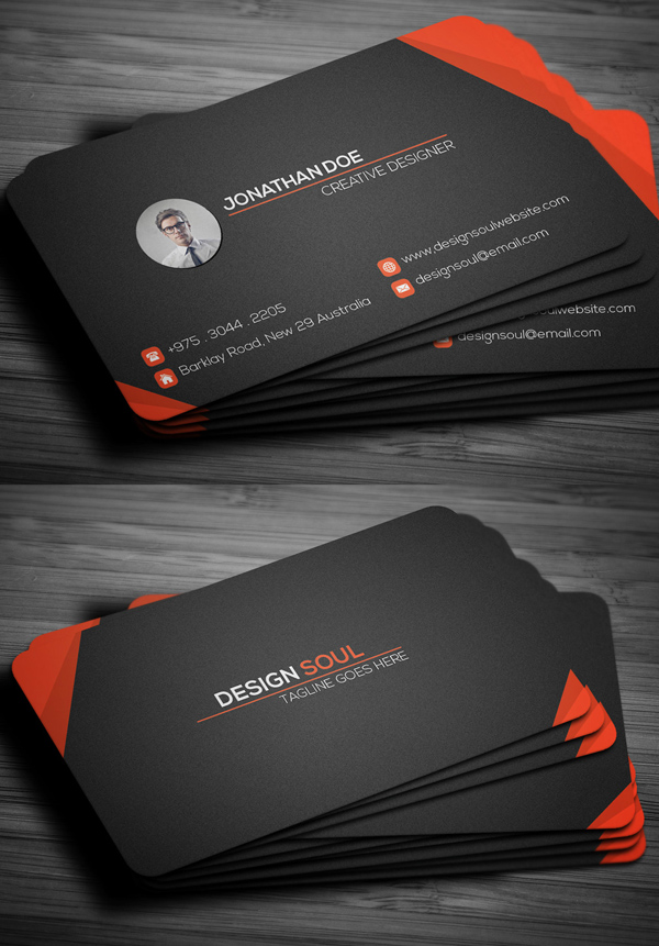 modern business cards design 26 creative examples design graphic design junction. Black Bedroom Furniture Sets. Home Design Ideas