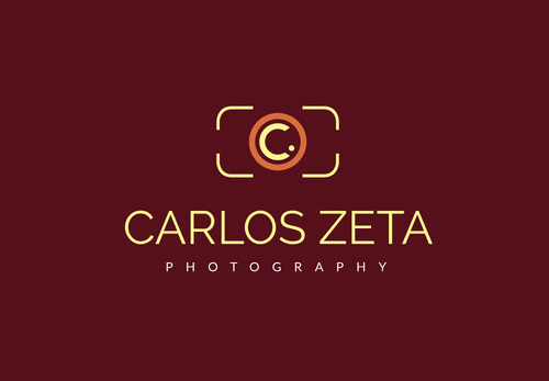 Photography Letter C logo Template