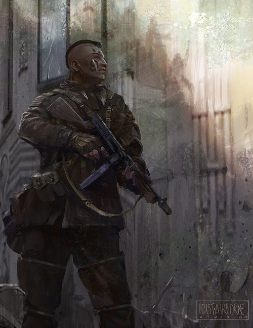 Digital Character Designs and Illustration by James Paick