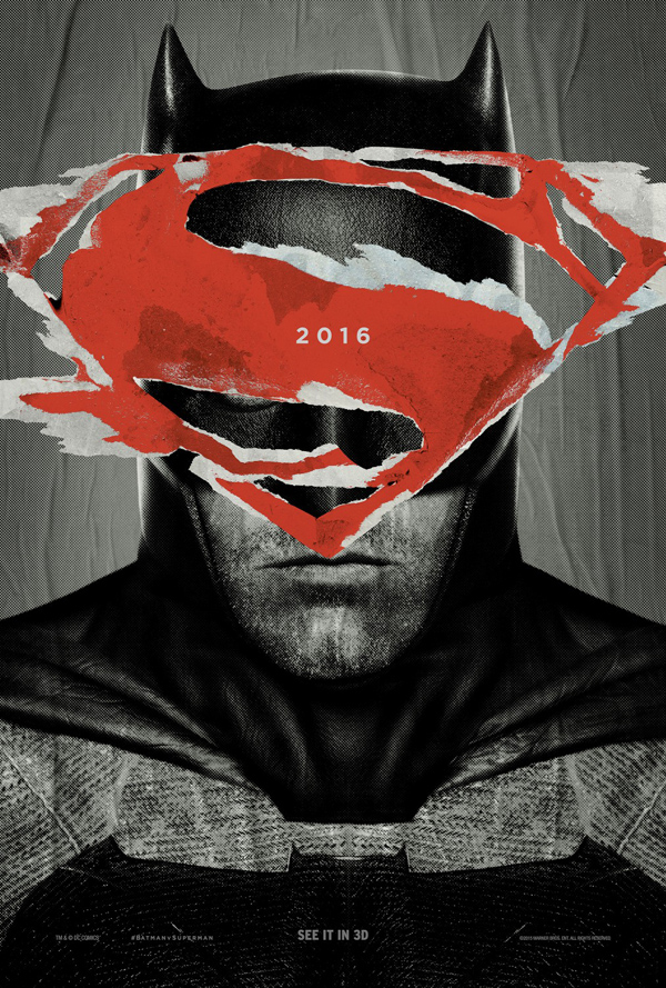Batman v Superman: Dawn of Justice (Poster 2) Movie Poster