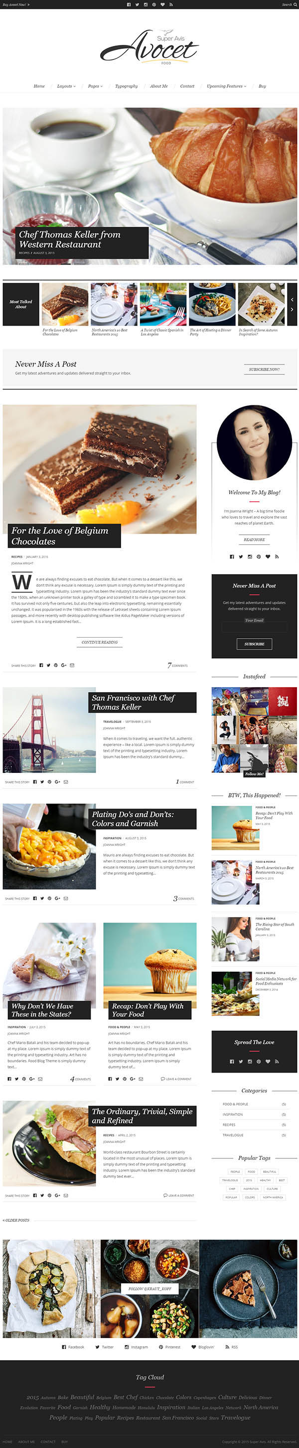 Avocet - Responsive WordPress Blog Theme