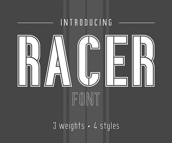 Racer Free Font