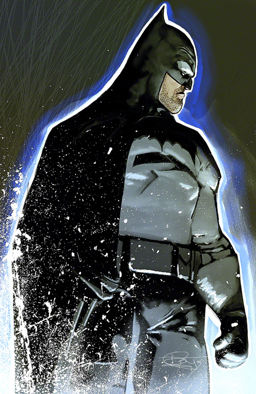 The Batman Illustration by Daniel Murray