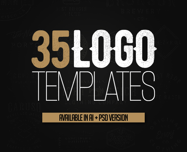 Logo Templates 35 Custom Logo Design  Logos Graphic