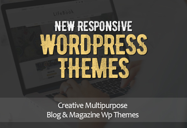 15 New Creative Responsive Blog/Magazine WordPress Themes