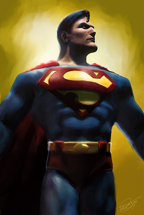 The Man of Steel Illustration by Daniel Murray
