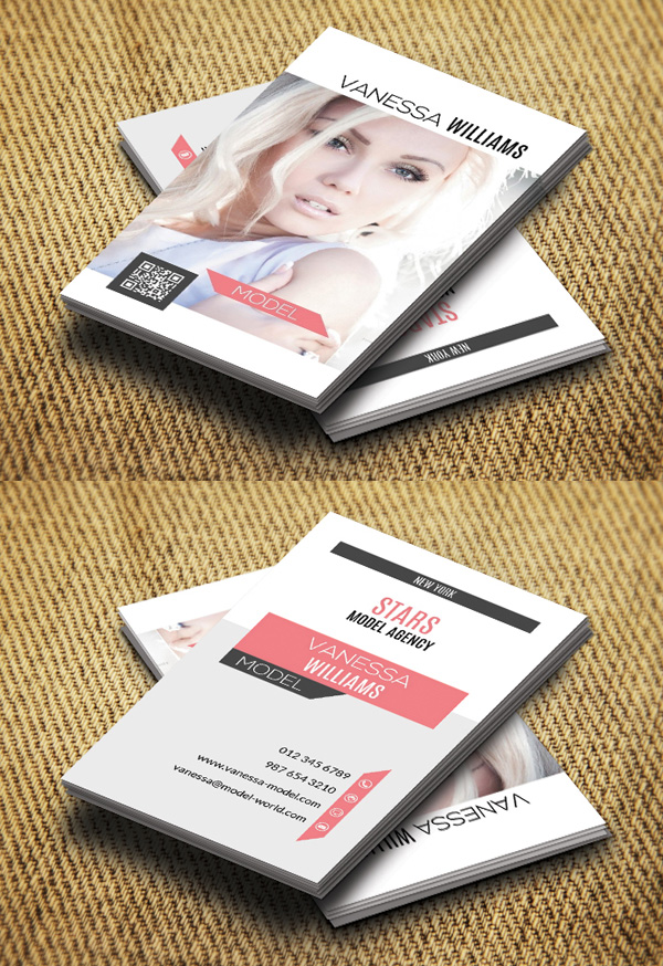 Photography Business Card Design #10