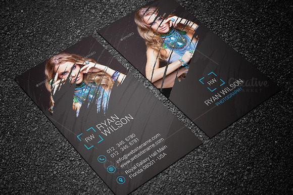 Photography Business Card Design #20