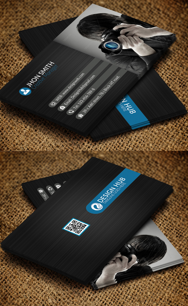 Photography Business Card Design #7