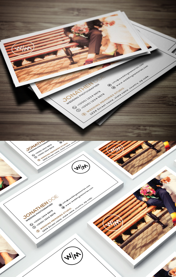 Photography Business Card Design #8