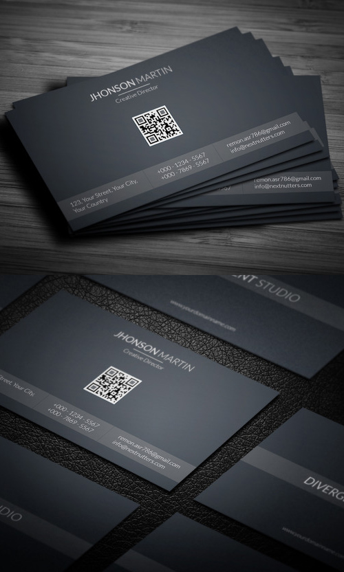 Beautiful Simple Business Card