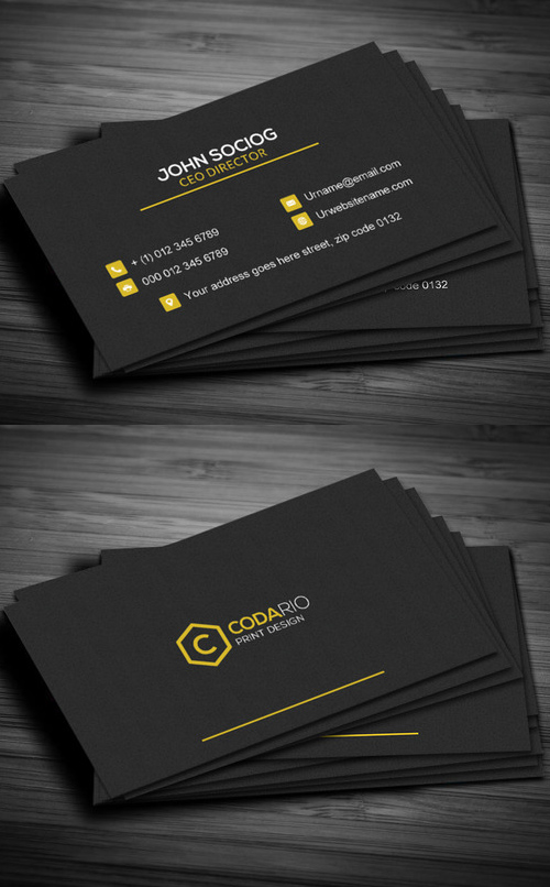 Construction Business Card