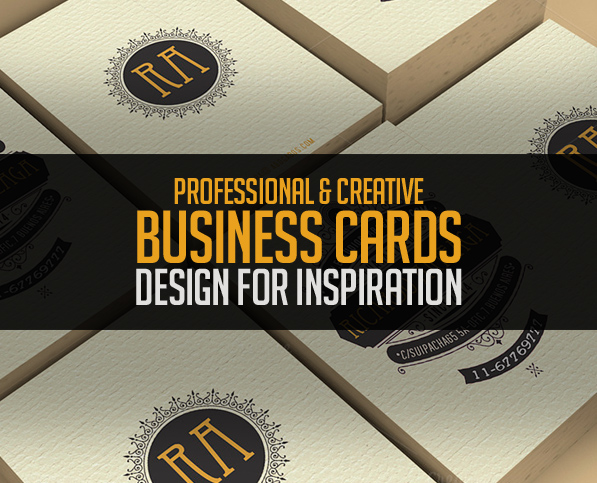 25 New Professional Business Card PSD Templates