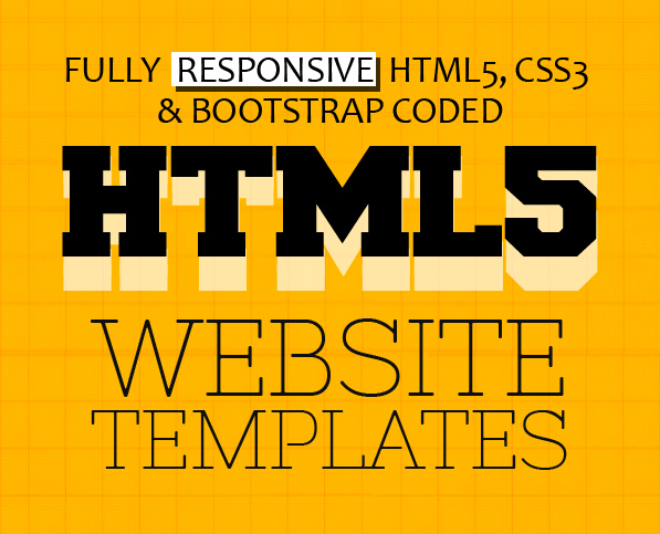 New Multipurpose Responsive HTML5 Templates (PSD & HTML)