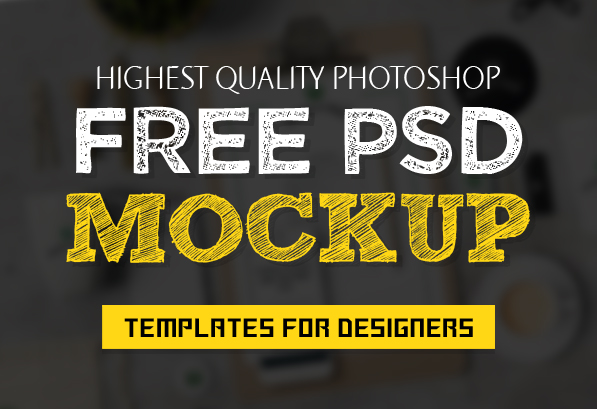 New Free PSD Mockup Templates for Designers (27 MockUps)