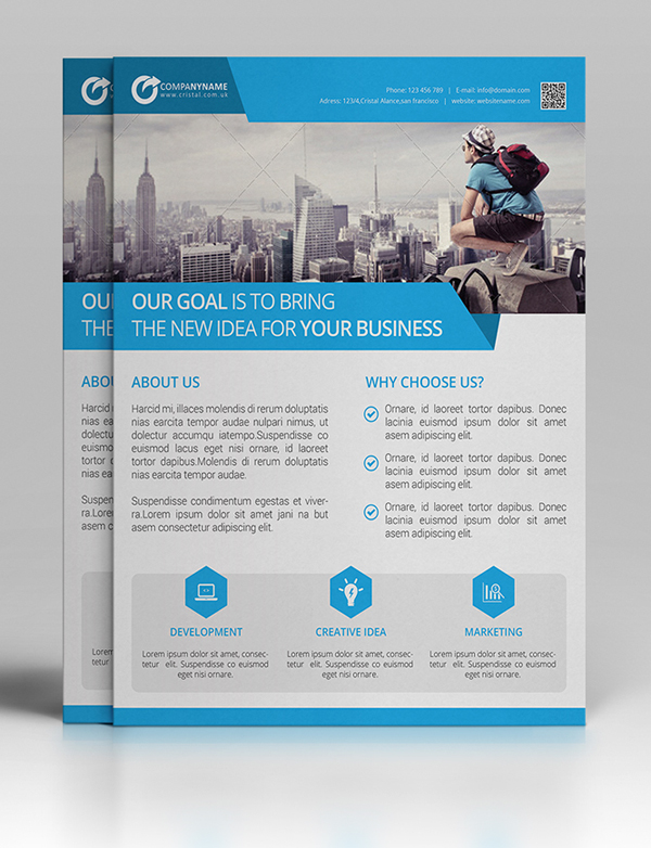 New Creative Business Flyer Templates | Graphics Design | Design Blog