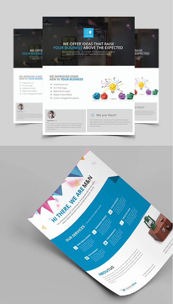 Agency Flyer/Poster Template