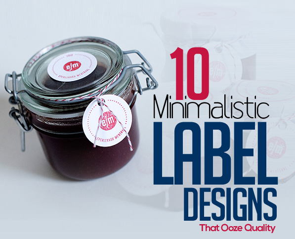 10 Minimalistic Label Designs That Ooze Quality