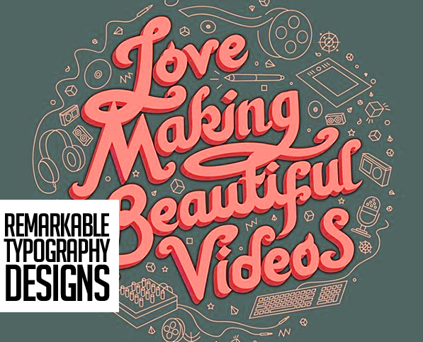 31 Remarkable Lettering and Typography Designs for Inspiration