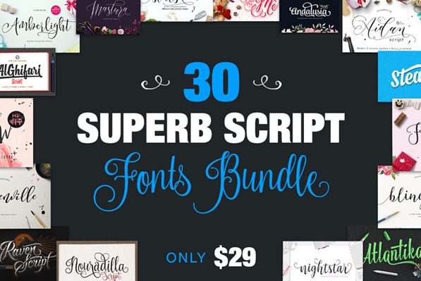 30 Script Fonts You'll Fall in Love With
