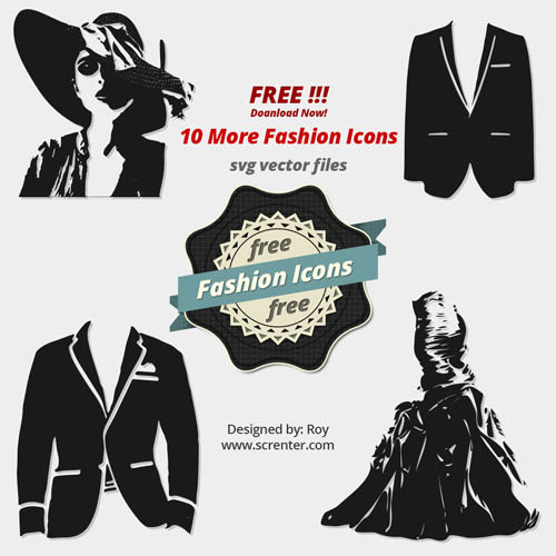Free Fashion Vector Icons
