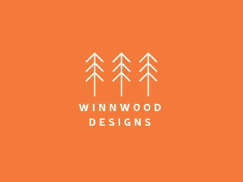 Winnwood Designs - Logo Concept by Flora Wilkerson
